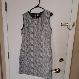 Abstract shape A-Line dress